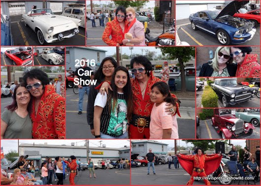 2016 Classic Car and Elvis Show held on May 5th
