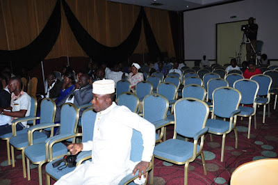 empty seats abuja pageant