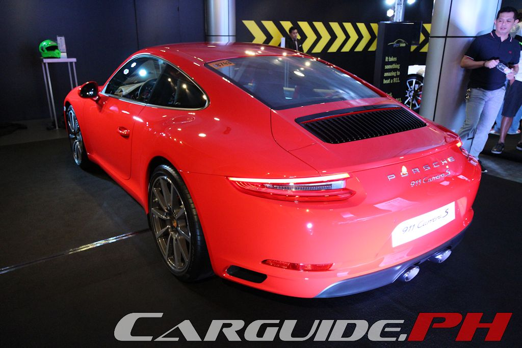 Porsche Philippines Unveils New 911 Carrera And Carrera S | Philippine Car  News, Car Reviews, Automotive Features, And New Car Prices | CarGuide.PH