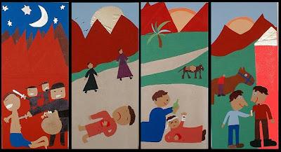 The Good Samaritan - 5 Minute Bible Story - Children's ... |The Good Samaritan For Preschoolers