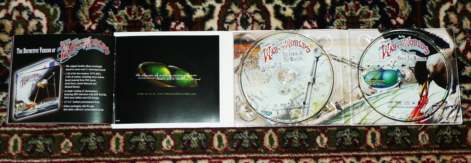Alternate Discs Digital Sound Even Better? SACD DVD-Audio