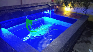 Kolam hias dapat menyajikan keasrian rumah anda , dengan menambah nilai-nilai kemewahan di hunian idaman anda.