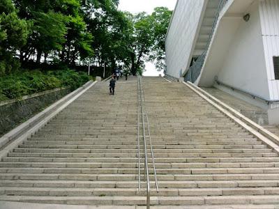 Sam Soon stairs at Namsan Seoul