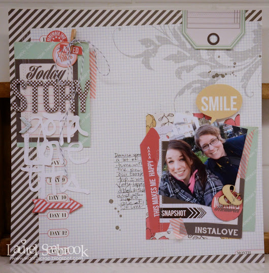 Guest Designer Laurel Seabrook using Daily Stories!