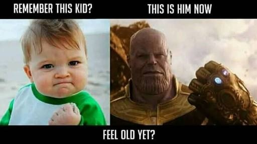 Thanos funny meme