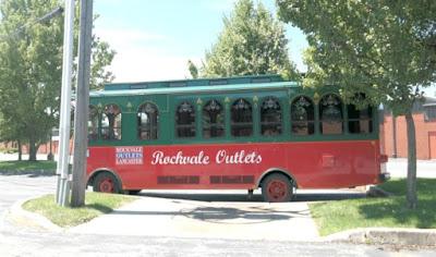 Rockvale Outlets Lancaster Pennsylvania - Trolley