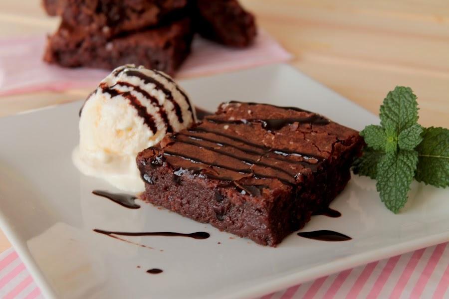 Brownie sin lactosa fácil