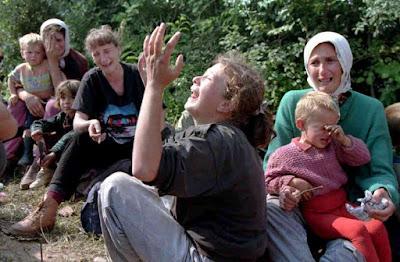 الإبادة الجماعية التي قام بها الصربيون على مسلمي البوسنة