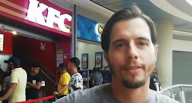 Desde Venezuela un turista argentino comparte vídeos con su experiencia