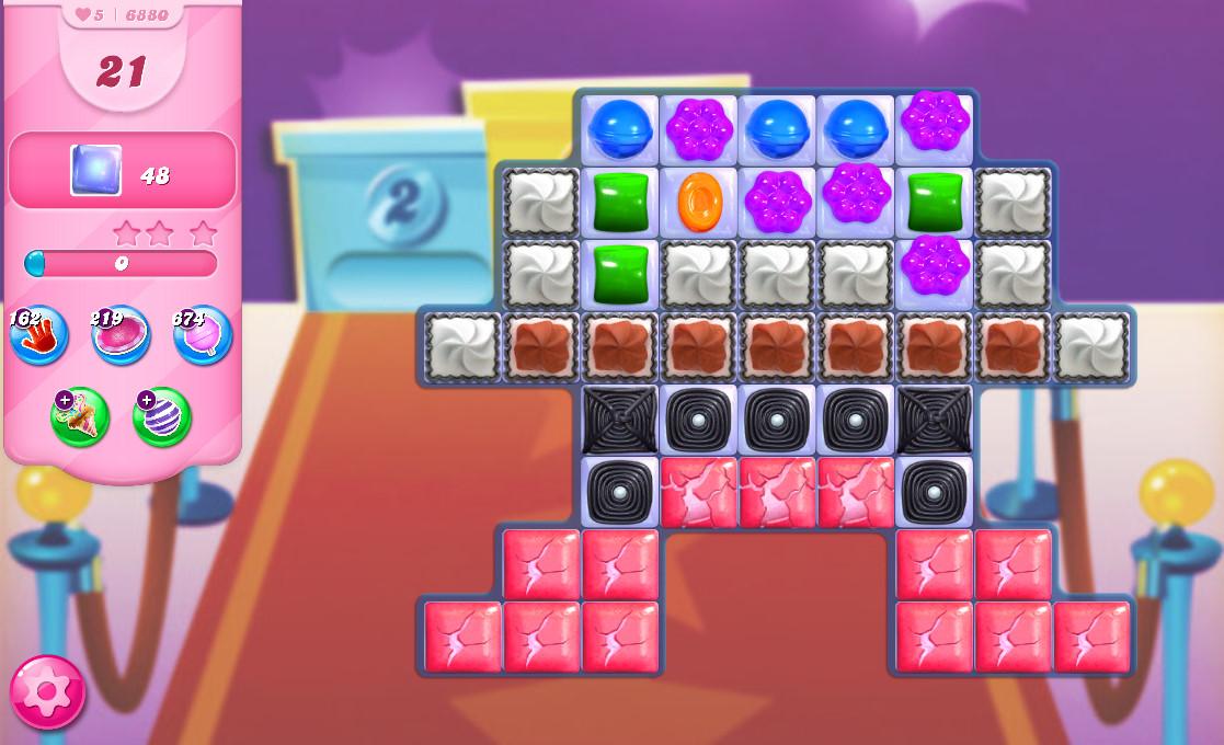 Candy Crush Saga level 6880