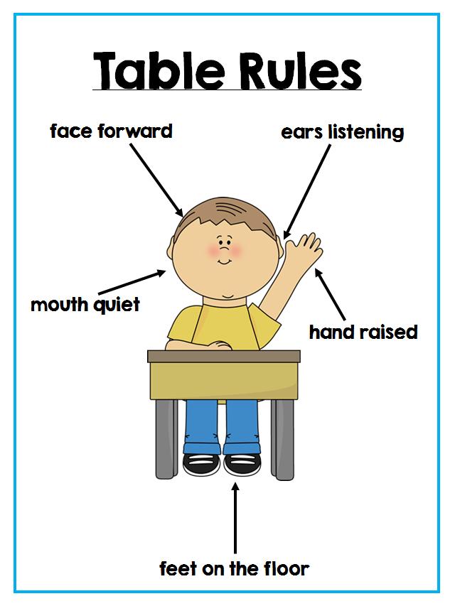 Tisch Regeln