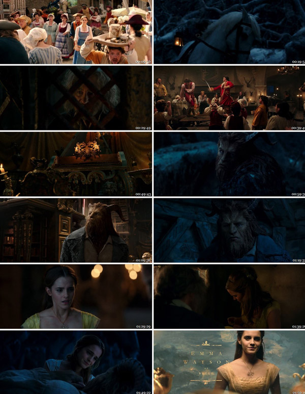 beauty and the beast 2017 download 480p