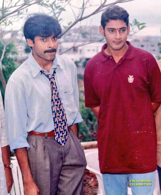 Pawan Kalyan and Mahesh Babu