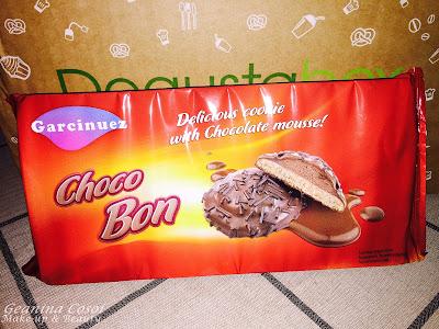 Garcinuez galletas con mousse Degustabox Enero 2016