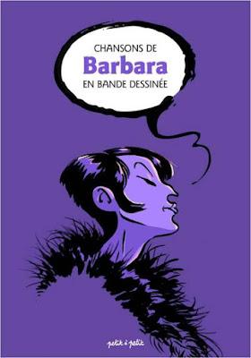 """couverture de """"Chansons de Barbara en BD chez Petit à Petit"""