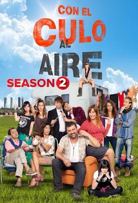 Con El Culo Al Aire (TV Series) S02 DVD R2 PAL Spanish