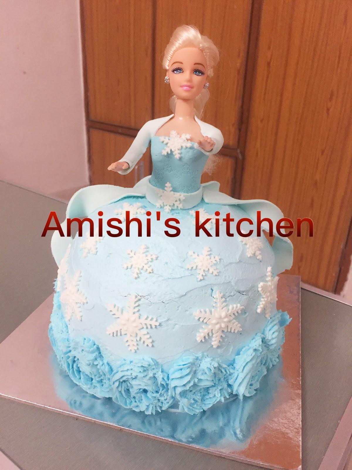 Amishi s Kitchen DOLL CAKE