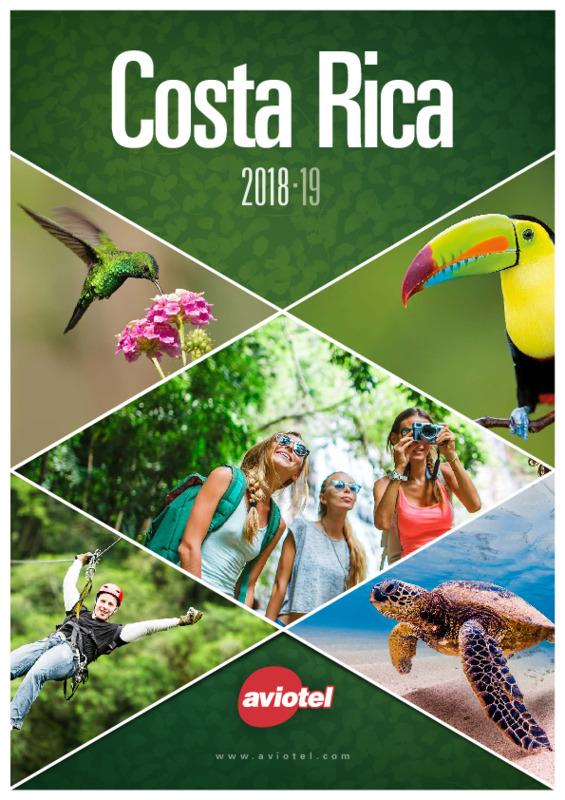 Catálogo Aviotel Circuitos Costa Rica 2018-19