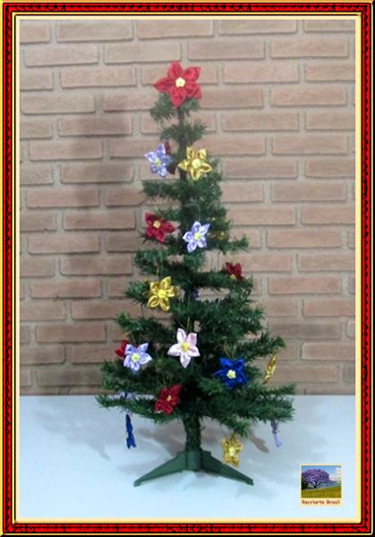 Fuxico para árvore de natal 1