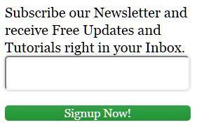 5. Email Subscription Box Widgets