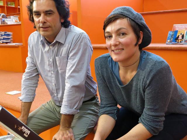 Fotografía de Los autores Philippe Lechermeier y Rébecca Dautremer