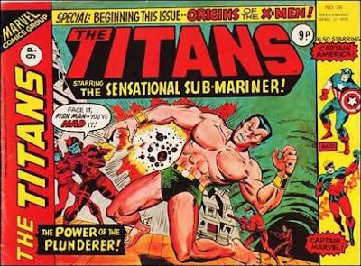 Marvel UK, The Titans #26, Sub-Mariner