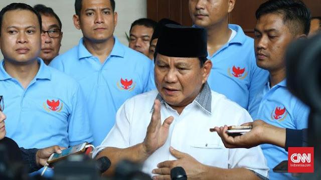 Prabowo Sebut SBY Sudah Penuh Perhitungan Sebelum Walkout