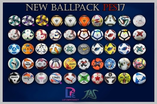 Ballpack 2019 For PES 2017 By LPE / JAS