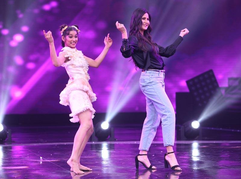 Vartika Jha with Katrina Kaif