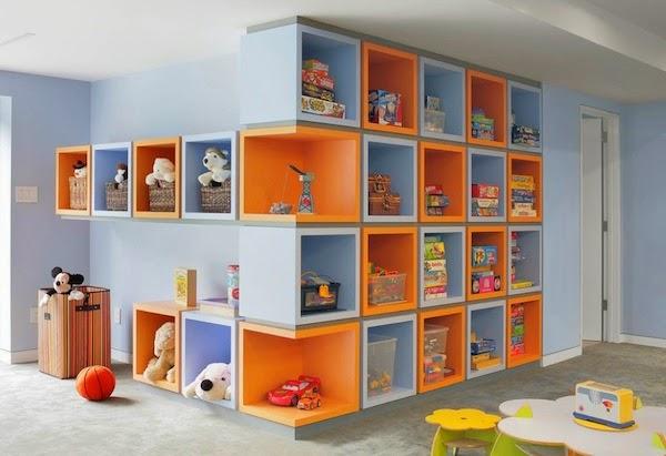 Arranger les jouets de vos enfants d'une manière esthétique et efficace