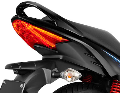 All New 2017 Hero Glamour FI Taillight picture