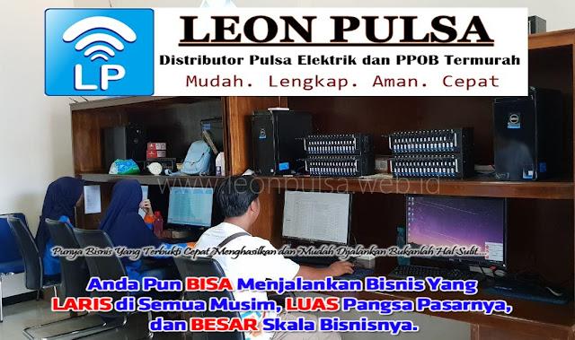 Peluang Bisnis Usaha Jualan Leon Pulsa Murah