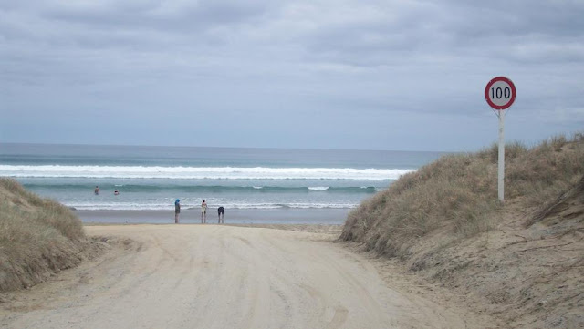 Just A Car Guy 90 Mile Beach Northern New Zealand Is A