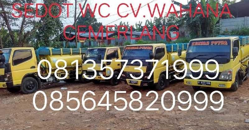 Jasa Sedot Wc Rembang Jawa Tengah 081357371999