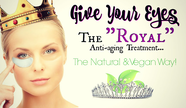 Give Your Eyes The Royal Anti-aging Treatment, The Natural & Vegan Way, VIIcode O2M Oxygen Eye Mask by Barbies beauty bits