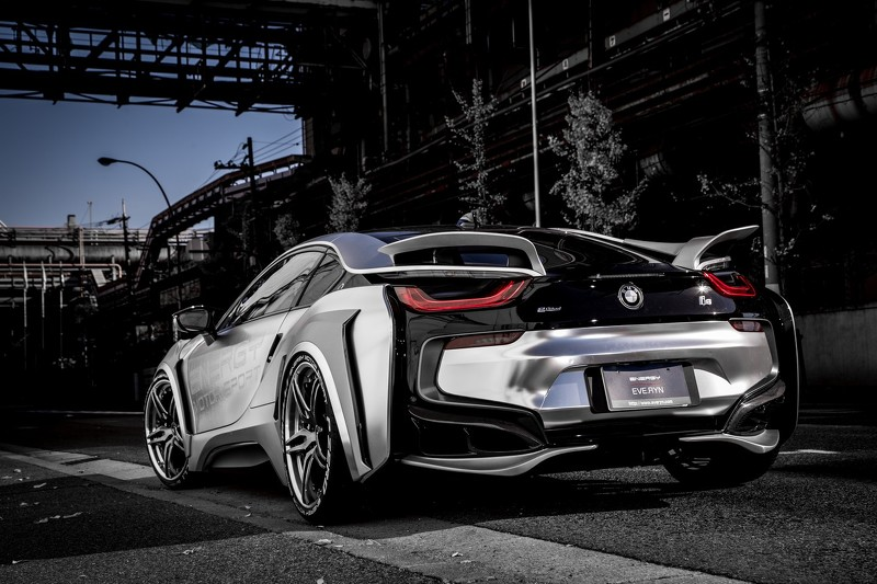 Energy Motor Sport Turn Bmw I8 Into Spaceship With Evo Kit