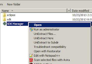 Open SDK Manager.exe