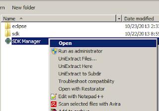 Open SDK Manager.exe