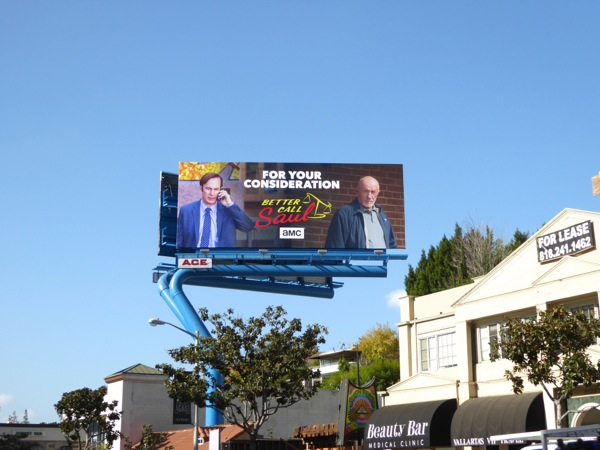 Better Call Saul season 2 consideration billboard