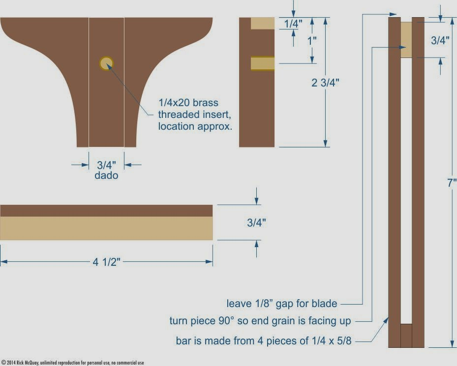 The Wood Knack Easy To Construct Marking Gauge