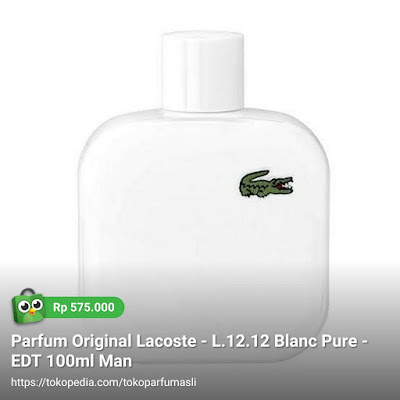 lacoste l1212 blanc pure edt 100ml man