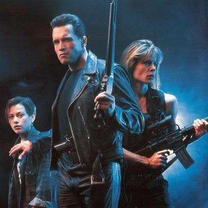 Terminaator 2 Judgment Day 1991 Arnold Schwarzenegger Linda Hamilton