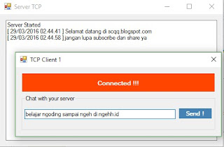 Aplikasi Chat Sederhana Network Programming Client/Server