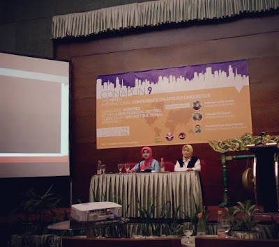 Ms Fenny Thresia, M.Pd Presented Her Research Project on the Ninth International Conference on Applied Linguistics