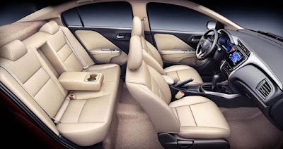 2016 Honda City Facelift  seating capacity interior photos