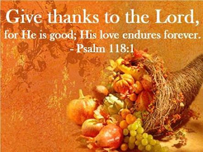 Thanksgiving prayer song