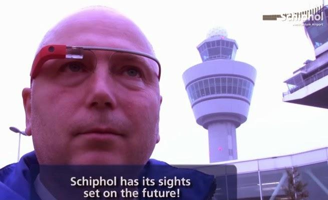 荷蘭史基浦機場導入Google Glass ,安檢、動線規劃、使用經驗測試中