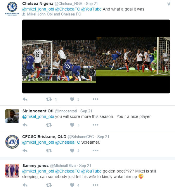 People react as Mikel says he'll be EPL highest goal scorer this season