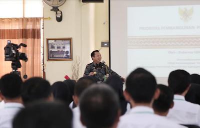 Gubernur Ridho: Perencanaan Pondasi Awal Dari Pembangunan