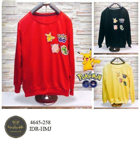 Jual Jacket / Sweater Sweater Pokemon - 12711